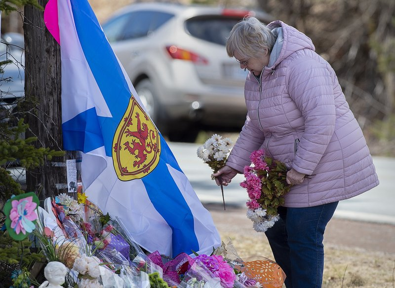 Canada mass shooting started with assault on girlfriend