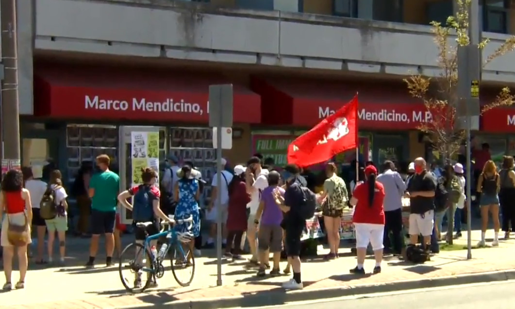 Migrant workers in Canada stage multi-city protest, call for more COVID-19 protections