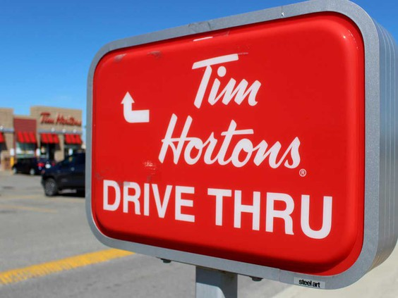 No more double cupping of drinks as Tim Hortons embraces the sleeve