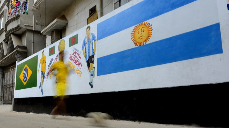Bangladesh bids farewell to Argentinian football legend Maradona
