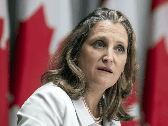 Economic crisis will dictate spending plans as Freeland takes finance job, experts say
