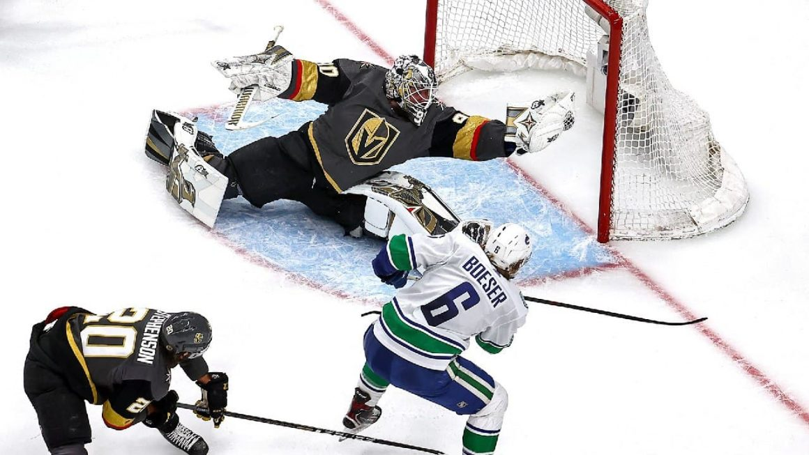 Canucks vs. Golden Knights Game 7: Robin Lehner posts third shutout of series, Vegas moves on to WCF