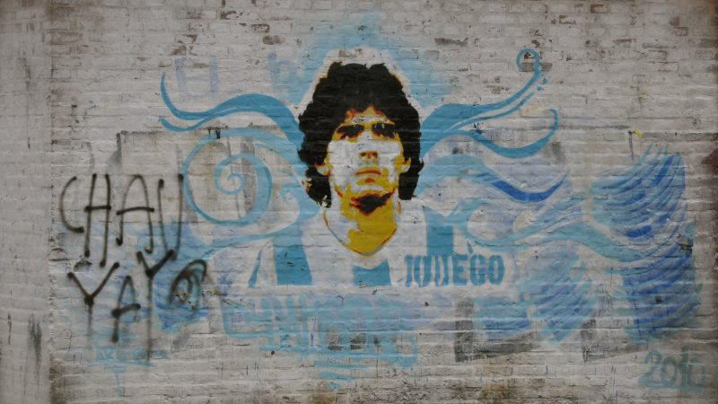 Caribbean football enthusiasts mourn the passing of Diego Maradona