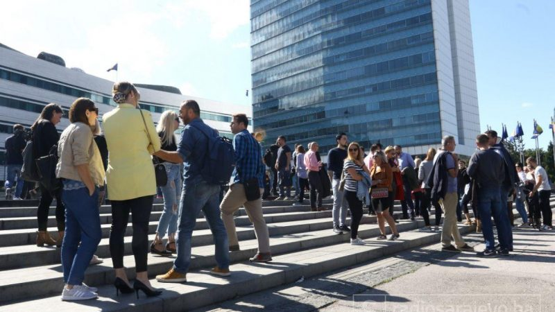Bosnian journalists demand justice in case of journalist threatened and assaulted by hooligans