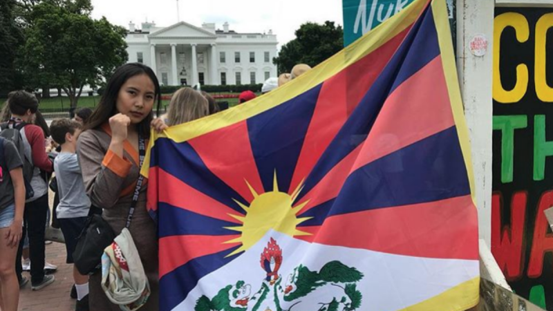 A Tibetan-Canadian student was attacked online after winning student council elections. She thinks Beijing is to blame.
