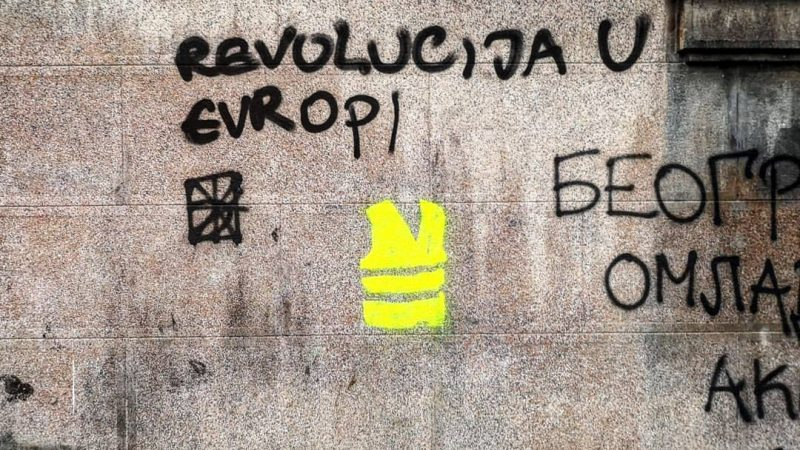 The French Yellow Vests movement seen through global lenses