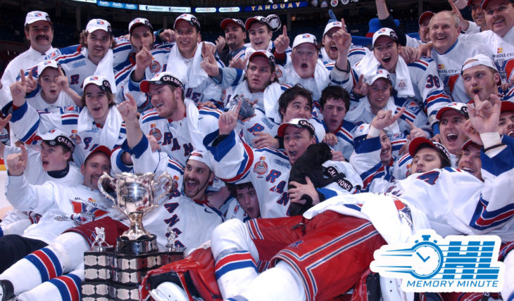 OHL Memory Minute: May 25, 2003