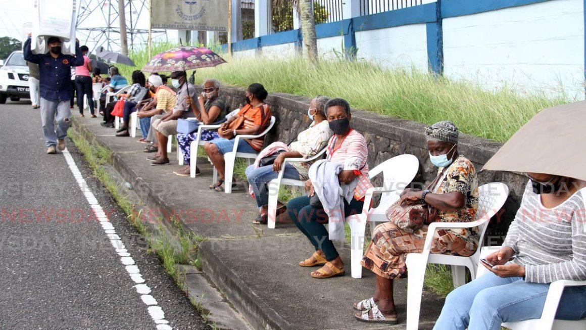 Good Samaritan provides chairs for seniors waiting on covid19 vaccines
