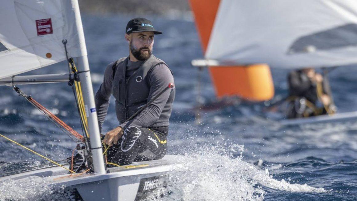 Lewis 15th in men's dinghy race 6 in Tokyo