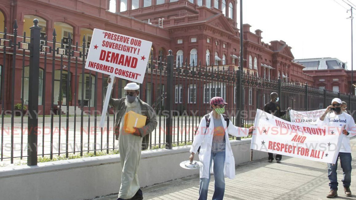 Activists march for 'transparency, accountability' in pandemic management